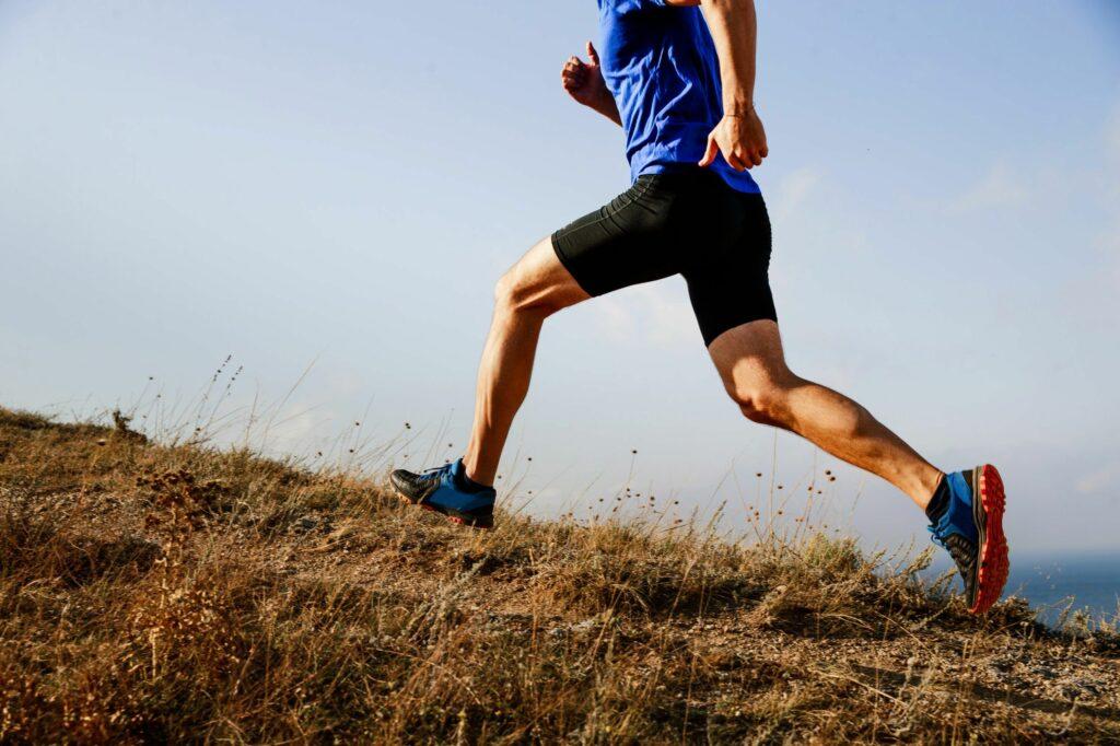 Chico Deportista Corriendo