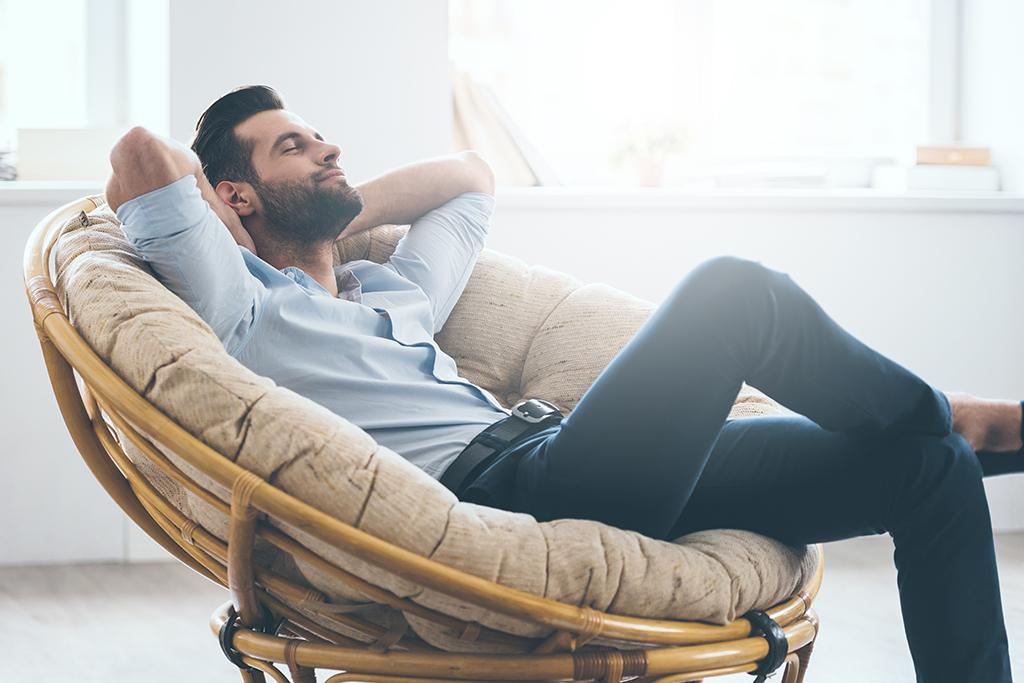 Hombre Relajado